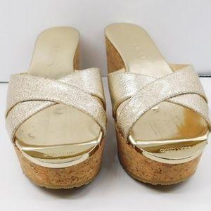 NWOT Jimmy Choo cork sandals